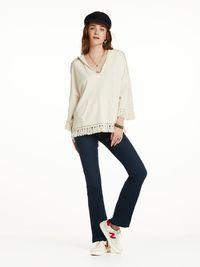 Sweat-shirt à capuche à pampilles   Sweat-shirts   Habillement Femme Scotch & Soda