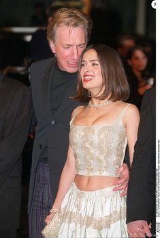 Alan Rickman et Salma Hayek au Festival de Cannes 1999 pour Dogma....