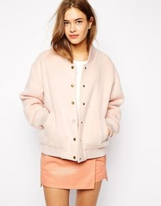Oh Ganni you absolute belter! I cannot get enough of this super boyish bomber and it's super girlie colour!
