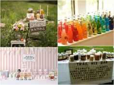 Build your own sundaes! and old fashion soda bottles!  WHAT WHAT!