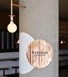 MMO interiors riverside food court interior brisbane australia designboom