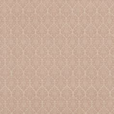 Burley | BURL004 in Pink | Schumacher Fabric by Veere Grenney |  A charming print with a hint of the exotic, Burley is a floral lattice design. Woven in England, this hand-blocked pattern has depth and beauty. Also available as a wallcovering.