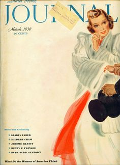 Ladies' Home Journal 1938 #LauraLamont