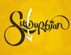 "Check out new work on my @Behance portfolio: ""SUBURBIAN"""