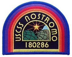 ALIEN Movie U.S.C.S.S. Nostromo Crew Logo PATCH Black - By Patch Squad