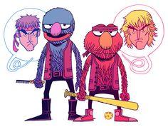 Mr Hipp - Sesame Street x Street Fighter