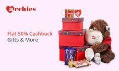 #paytm #valentines day gifts 50% #cashback offer