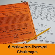 Looking for a fun way to keep students engaged leading up to Halloween? This Halloween Escape Room includes 6 math and ELA challenges! #vestals21stcenturyclassroom #halloween #halloweenescaperoom
