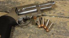 The Taurus Judge - Handgun - Revolver (it shoots .45LC & .410 shotgun shells! awesome for home defense.)