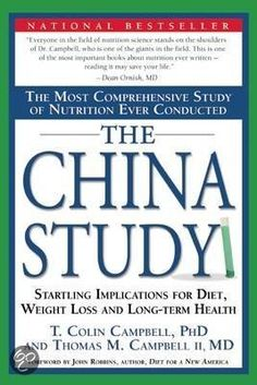 bol.com | The China Study, Colin Campbell & T. Colin Campbell | 9781932100662 | Boeken...