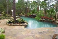 Pool builders in Houston, Texas, craft quality outdoor kitchens and swimming pools