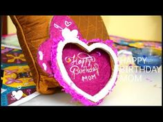 Hi everyone, In today's topic I am using Cardboard Crepe paper Hand made paper Acrylic colour Colour paper It very easy and simple craft work for all. Creative Crafts, Easy Crafts, Mom Birthday, Birthday Gifts, Bamboo Design, Crepe Paper, Acrylic Colors, How To Make Paper, Craft Work