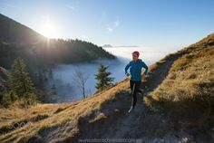 """Trail Running above the Clouds - Trail running above the clouds in the Austrian Alps.  Image available for licensing.  See more of my work here:  <a href=""""http://www.oberschneider.com"""">oberschneider.com</a>  Facebook: <a href=""""http://www.facebook.com/Christoph.Oberschneider.Photography"""">Christoph Oberschneider Photography</a> follow me on <a href=""""http://instagram.com/coberschneider"""">Instagram</a>"""