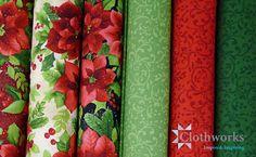 Sue Zipkin Poinsettia by Clothworks