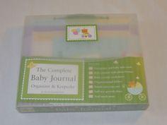 The Complete Baby Journal, Organizer & Keepsake Lluch, Alex; Lluch,Elizabeth #Baby #BabyJournal #Keepsake #Organizer #TheCompleteBabyJournal #New