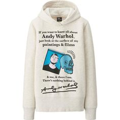 WOMEN SPRZ NY SWEAT PULLOVER HOODIE (ANDY WARHOL)