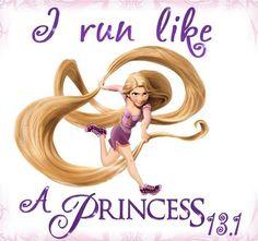 Rapunzel Princess 1/2 Marathon Hoping to make this true in February