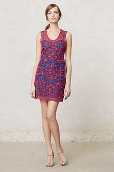 #DevaEmbroideredShift #Anthropologie