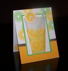 Cute Lemonade Card