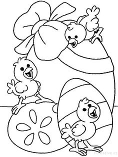 33 cool coloring pages from Easter to print! Easter Coloring Pages, Coloring Sheets For Kids, Cute Coloring Pages, Animal Coloring Pages, Free Coloring, Coloring Books, Easter Templates, Easter Printables, Easter Egg Crafts