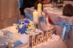 Romantic and elegant decoration for engagement party and wedding