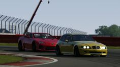 Battle BMW Z3 M Coupe S54 x Lexus LFA Track Edition Racing  at Silverstone