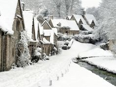Winter in The Cotswolds Very Dickens!