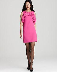 DIANE von FURSTENBERG Dress - Pandora Sheer Back   Bloomingdale's