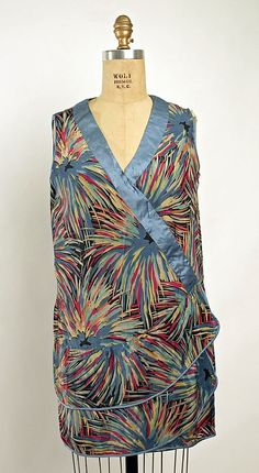 Bathing suit, silk, 1928