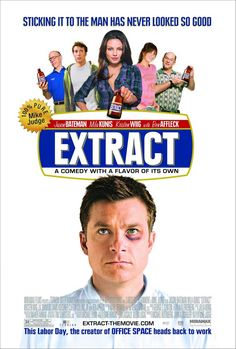 Jason Bateman and Mila Kunis in Extract Film Watch, Movies To Watch, Good Movies, Movies 2014, Mila Kunis, Ben Affleck, Mike Judge, Jason Bateman, Gene Simmons