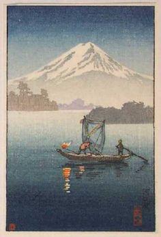 Date unknown - Koitsu, Tsuchiya - Lake Kawaguchi (2)