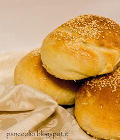 Pane e olio ...: Panini al latte e sesamo bimby