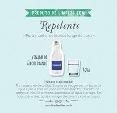 Repelentes caseiros: 5 receitas naturais e poderosas Keep It Simple, Perfume, Care About You, Clean House, Cleaning Hacks, Slogan, Health Tips, Things To Do, Beauty Hacks