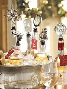 Great Tuesday Tip from Pottery Barn! Guests about to arrive and you forgot to chill the wine? Use these 3 quick steps if you are short on time! 1. Place bottle in wine bucket and fill with ice. 2. Add two handfuls of salt (that's the secret ingredient). 3. Wait 6 minutes, serve and enjoy!