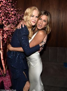 Inside the SAG Awards after party: Jennifer Aniston reunites with former co-star Nicole Kidman - Internewscast Nicole Kidman, Jennifer Aniston, Palm Springs, Dior Dress, Teresa Palmer, Sag Awards, Adam Sandler, Jessica Chastain, People Magazine