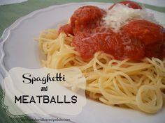 Leesh & Lu's Recipe Box: Homemade Meatballs {For Spaghetti & Sauce}