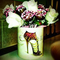 Cake Pops I made for a wedding shower :)