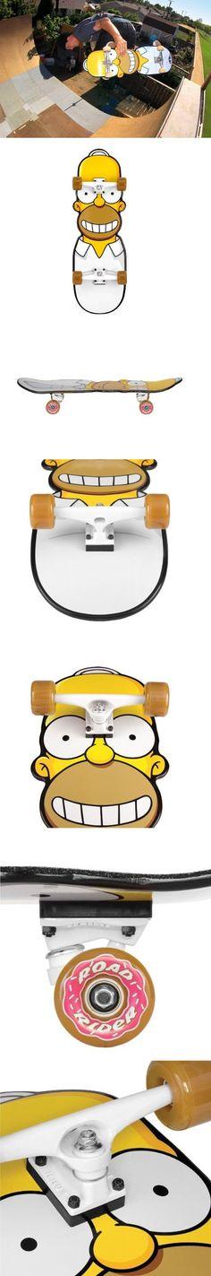 Cool simpsons skateboard
