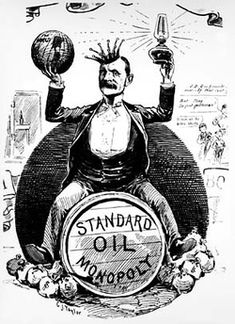 Robber Baron: John D. Rockefeller.  Great link to AP US History text on robber barons and labor.