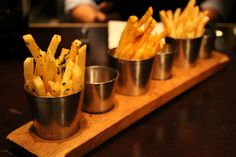A trip to Georgetown isn't complete without a special visit Bourbon Steak. Don't question what you should order there. And lucky you, the delicious seasoned fries are a treat given to every guest!