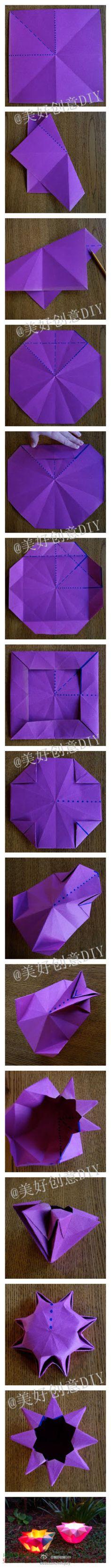 Plegable linternas de papel, como los zapatos de origami no se pierda oh ~