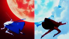 The Devil Is a Part-Timer - Emilia and Satan by XavierForest.deviantart.com on @DeviantArt