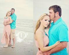 Couples beach photo shoot; engagement photo shoot; engagement beach photo shoot.  Copyright Pic-a-Lillee Photography