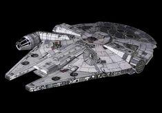 Star Wars - Mini Millennium Falcon Free Papercraft Download - http://www.papercraftsquare.com/star-wars-mini-millennium-falcon-free-papercraft-download.html