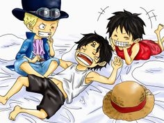 Sabo, Luffy and Ace!