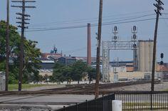 Inside the Fostoria Ohio Iron Triangle Railroad Park.  Here, the B&O, NKP, N&W, C&O and Toledo & Ohio Central (a NYC subsidiary) railroads, as well as the Toledo, Fostoria & Findlay and the Fostoria & Fremont Interurbans all converged.