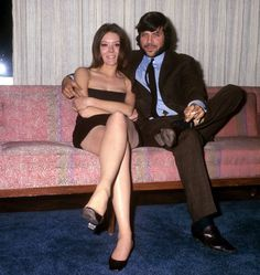 1969. Diana Rigg and Oliver Reed