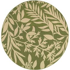 Tommy Bahama Seaside 7.10 Ft. Round Indoor/Outdoor Rug By Oriental.