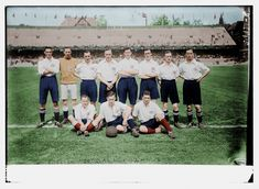 The 1912 Great Britain football team that won the gold medal in the Olympics in Stockholm Football Odds, Football Team, Games Football, Great Britain Olympics, Olympic Games, Dolores Park, Stockholm, Collection, Athlete