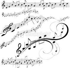 Papillon Et Notes De Musique  Tattoo Addict FruSki Board